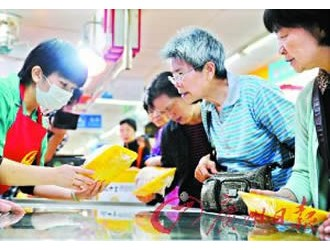 广州生鲜鸡试点市场保证都有鸡卖(组图)